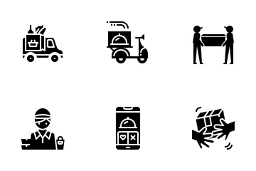 Delivery Services. Icon Pack