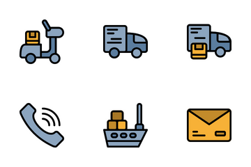 Delivery Set Icon Pack