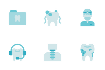 Dental Care Icon Pack