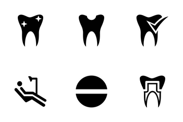 Dental Vector Icons Icon Pack