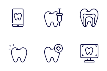 Dentist Icon Pack