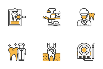 Dentist Elements Icon Pack