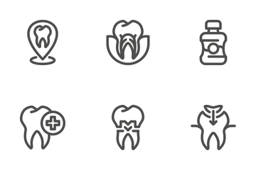 Dentist Set Icon Pack