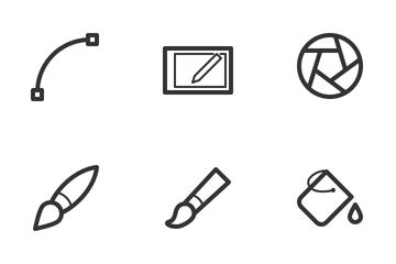 Design & Creativity Icon Pack