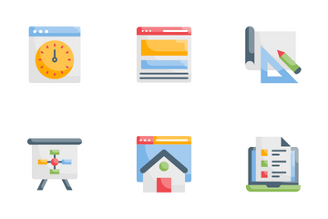 Design  Development Icon Pack