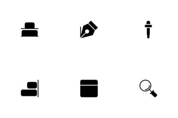 Design Glyphs  Icon Pack