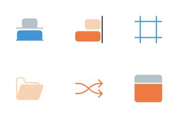 Design Glyphs Color Icon Pack