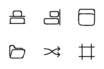 Design Hand Drawn Icon Pack