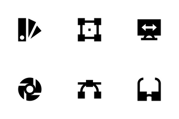 Design, Printing & Modeling Icon Pack