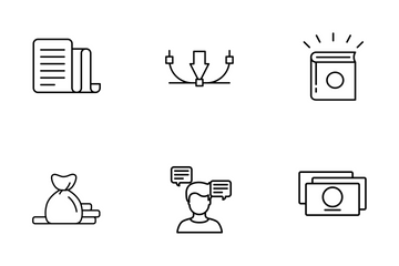 Design Process_line Icon Pack