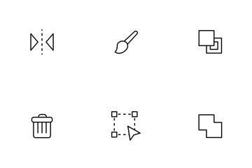Design Thinline Icon Pack