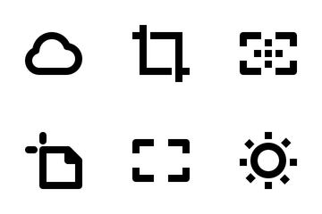 Design Tools & Photo Editing Icon Pack
