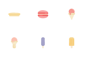Dessert And Sweets Icon Pack