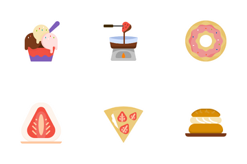 Dessert Recipes Icon Pack