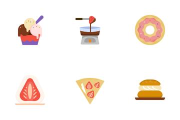 Dessert Recipes Icon Pack