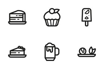 Desserts Icon Pack