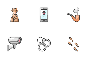 Detective Icon Pack