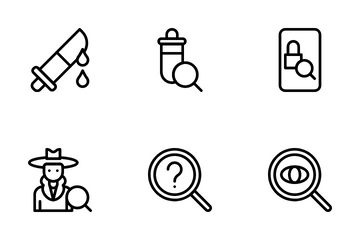 Detective Icon Pack