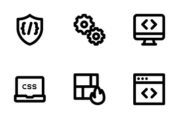 Development MD - Outline Icon Pack