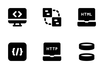 Development MD - Solid Icon Pack