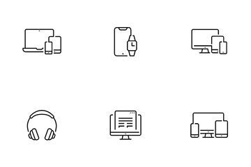 Device And Responsive Icon Pack