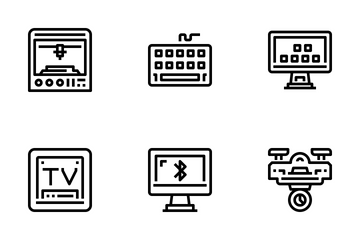 Device And Technology  Icon Pack
