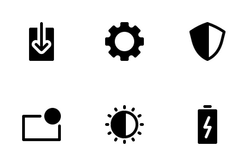 Device Settings (Glyph) Icon Pack