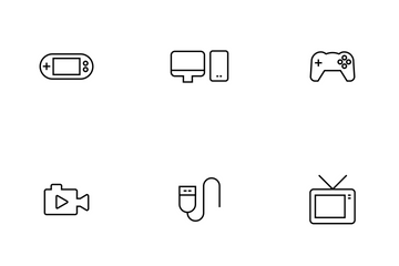 Device Thinline Icon Pack