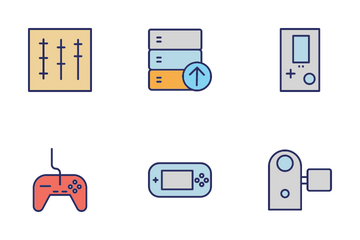 Devices Circular Icon Pack