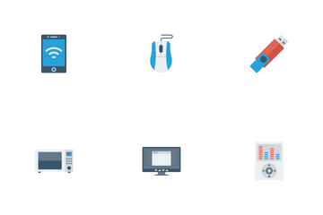 Devices Flat  Icon Pack
