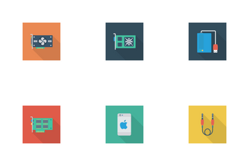 Devices Flat Square Shadow Vol 1 Icon Pack