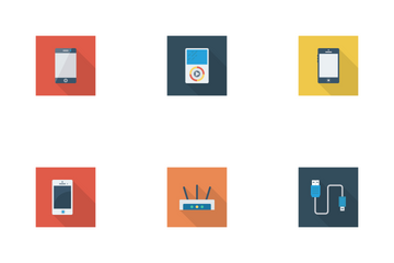 Devices Flat Square Shadow Vol 2 Icon Pack