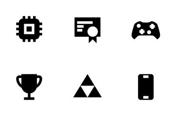 Devices & Gaming Solid Icon Pack