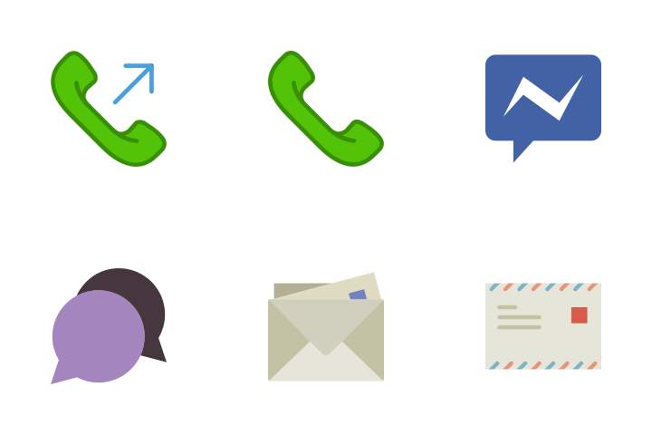 Dialogue - Flat Icon Pack
