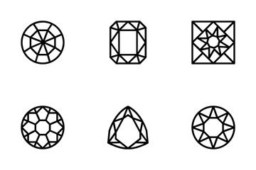 Diamond - Line Icon Pack