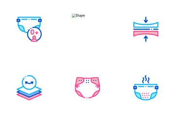 Diaper For Newborn Icon Pack