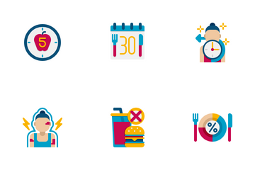 Dieting Icon Pack