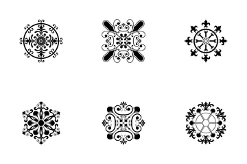 Different Styles Of Design Elements Icons Icon Pack