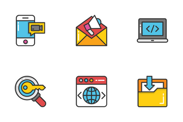 Digital And Internet Marketing 1 Icon Pack