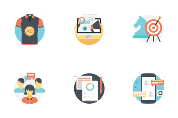Digital And Internet Marketing Icon Pack