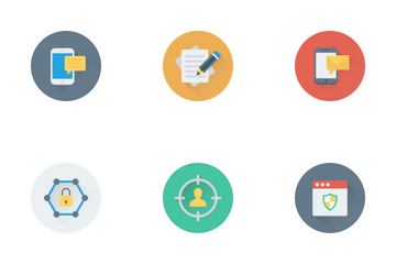 Digital And Marketing 1 Icon Pack