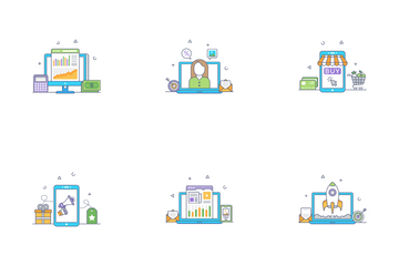 Digital Business Icon Pack