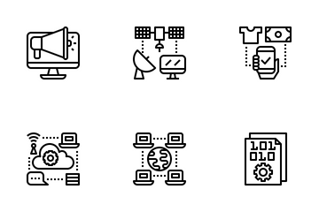 Digital Economy Icon Pack
