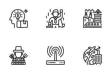 Digital Economy Icon Pack