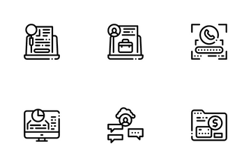 Digital Identity User Icon Pack