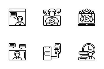 Digital Leaning Icon Pack