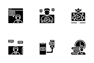 Digital Learning Icon Pack