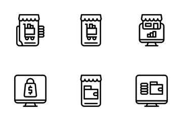 Digital Market Icon Pack