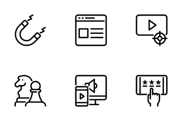Digital Marketing 1 Icon Pack