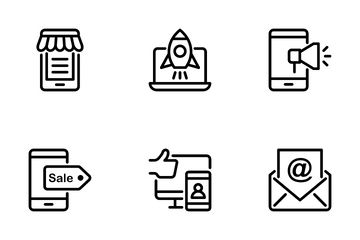 Digital Marketing 2 Icon Pack